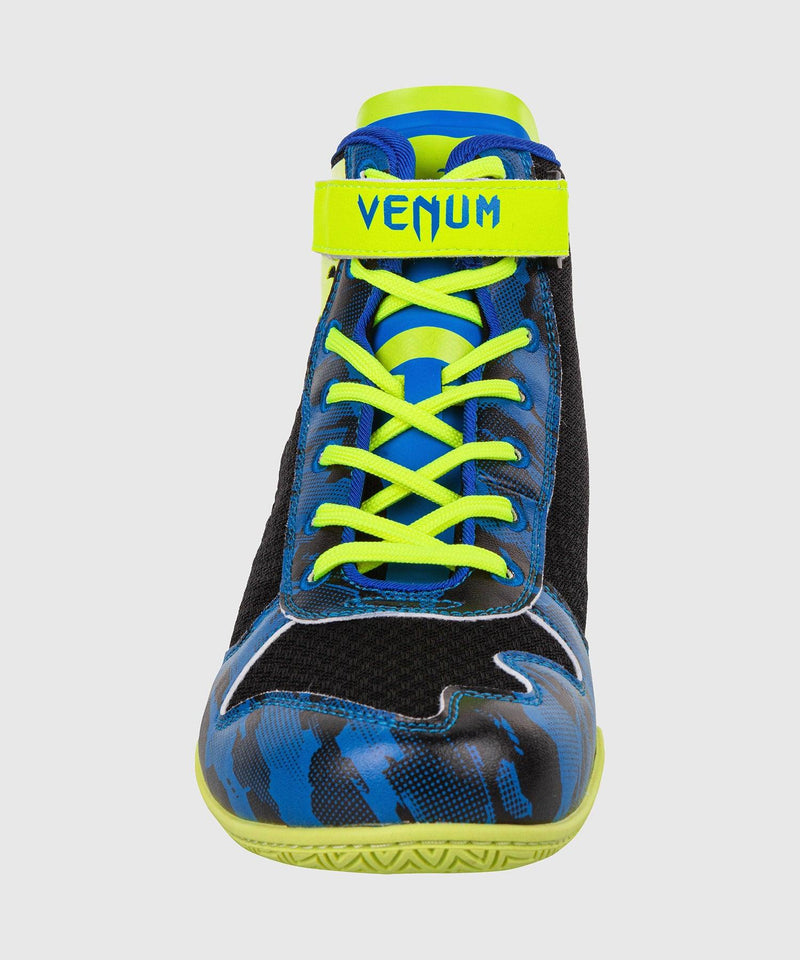 Venum Giant Low Loma Edition Boxing Shoes - Blue/Yellow picture 5