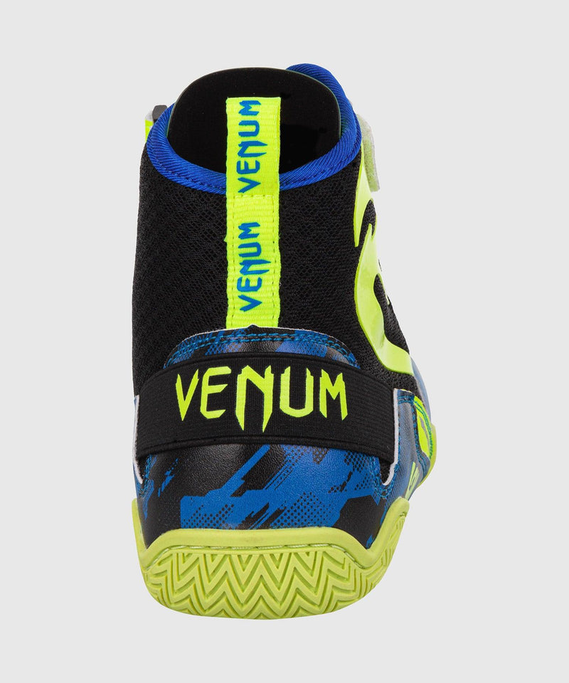 Venum Giant Low Loma Edition Boxing Shoes - Blue/Yellow picture 7