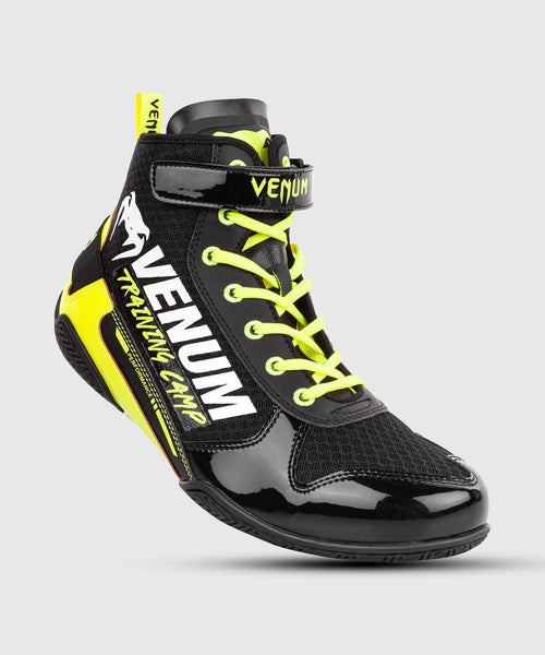Venum Giant Low VTC 2 Edition Boxing Shoes - Black/Neo Yellow picture 1