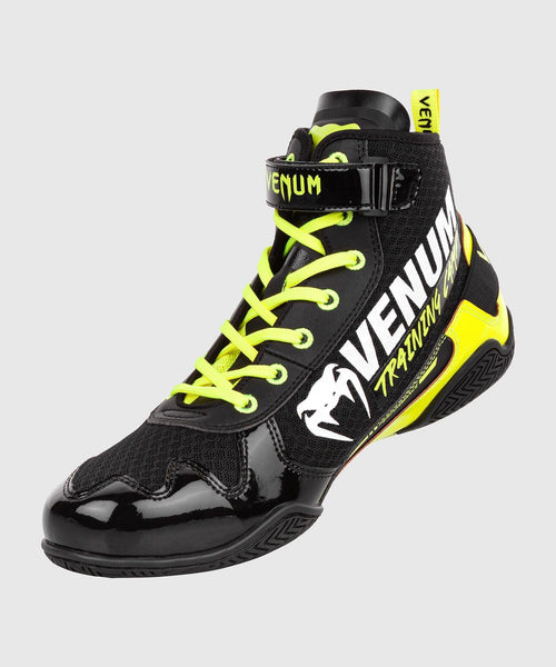 Venum Giant Low VTC 2 Edition Boxing Shoes - Black/Neo Yellow picture 2