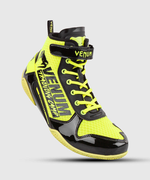 Venum Giant Low VTC 2 Edition Boxing Shoes - Neo Yellow/Black picture 1