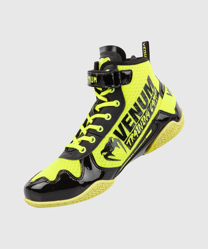 Venum Giant Low VTC 2 Edition Boxing Shoes - Neo Yellow/Black picture 2