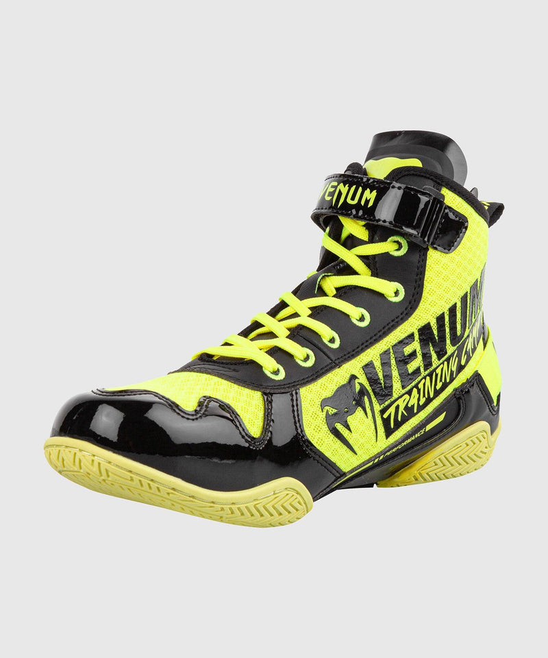 Venum Giant Low VTC 2 Edition Boxing Shoes - Neo Yellow/Black picture 4