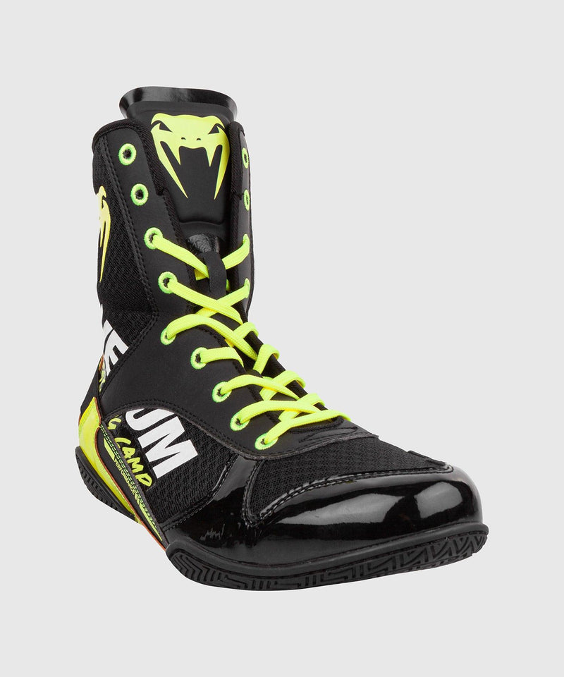 Venum Elite VTC 2 Edition Boxing Shoes - Black/Neo Yellow picture 4