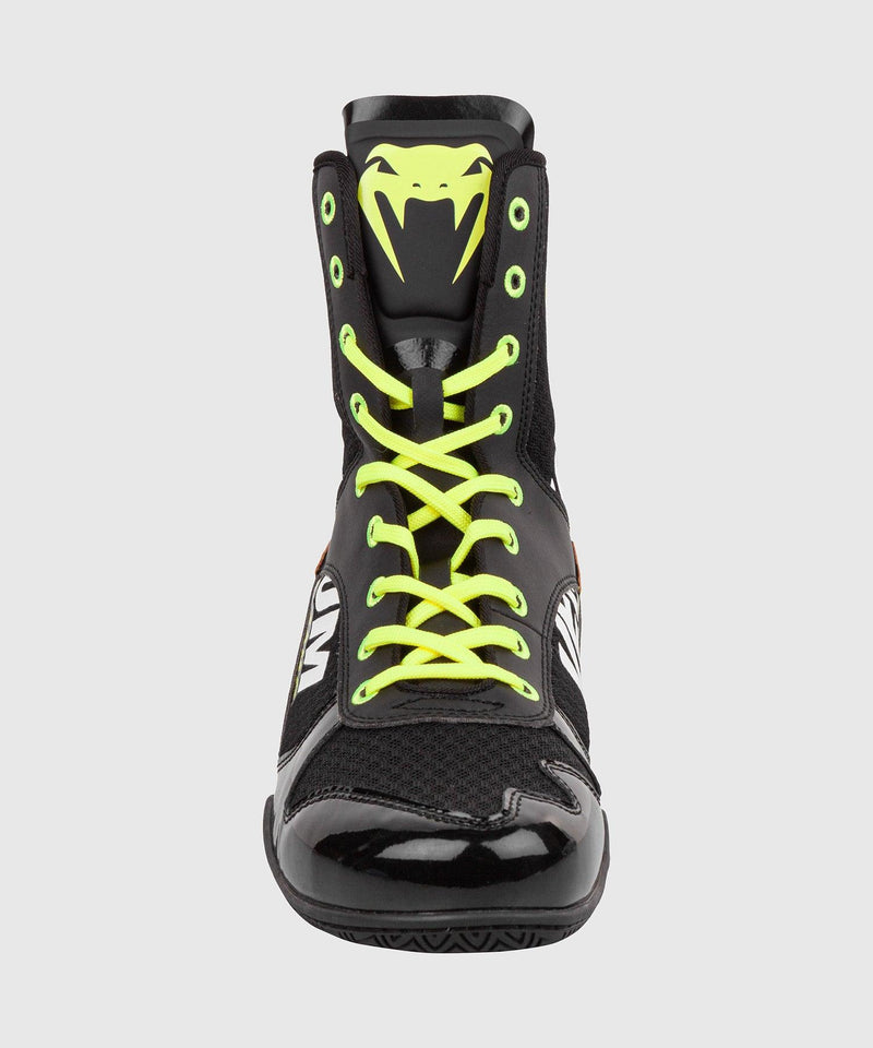Venum Elite VTC 2 Edition Boxing Shoes - Black/Neo Yellow picture 3