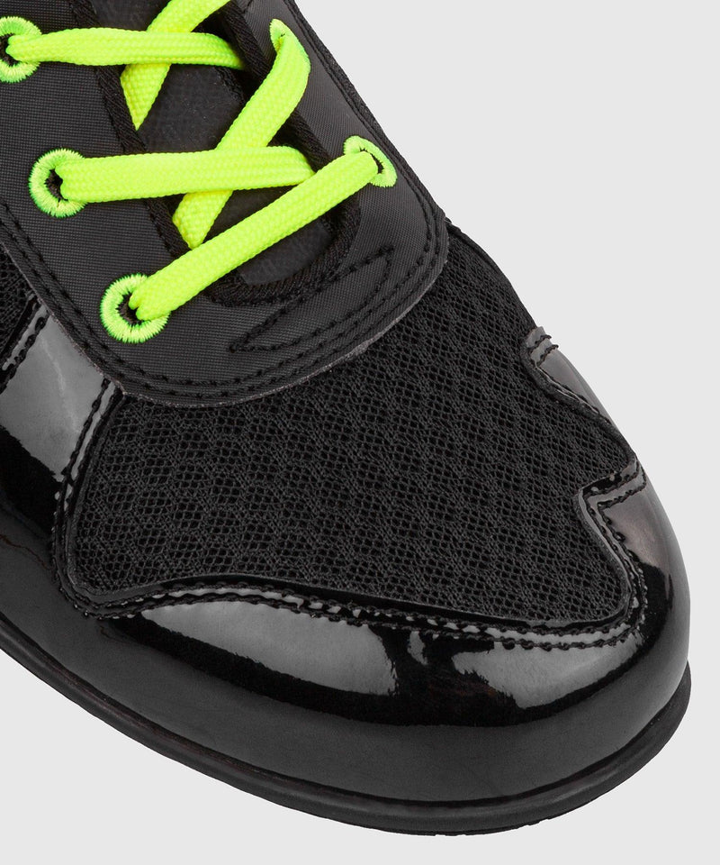Venum Elite VTC 2 Edition Boxing Shoes - Black/Neo Yellow picture 9