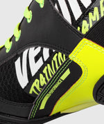 Venum Elite VTC 2 Edition Boxing Shoes - Black/Neo Yellow picture 8