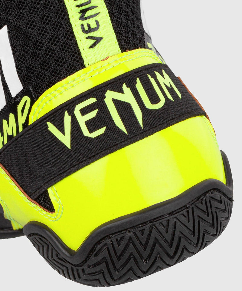 Venum Elite VTC 2 Edition Boxing Shoes - Black/Neo Yellow picture 7