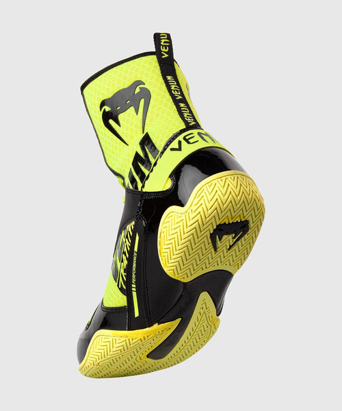 Venum Elite VTC 2 Edition Boxing Shoes - Neo Yellow/Black picture 2