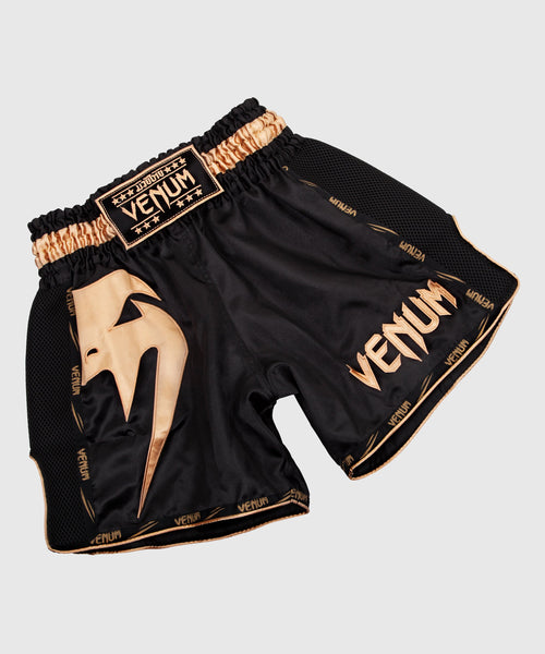 Venum Giant Muay Thai Shorts - Black/Gold picture 1