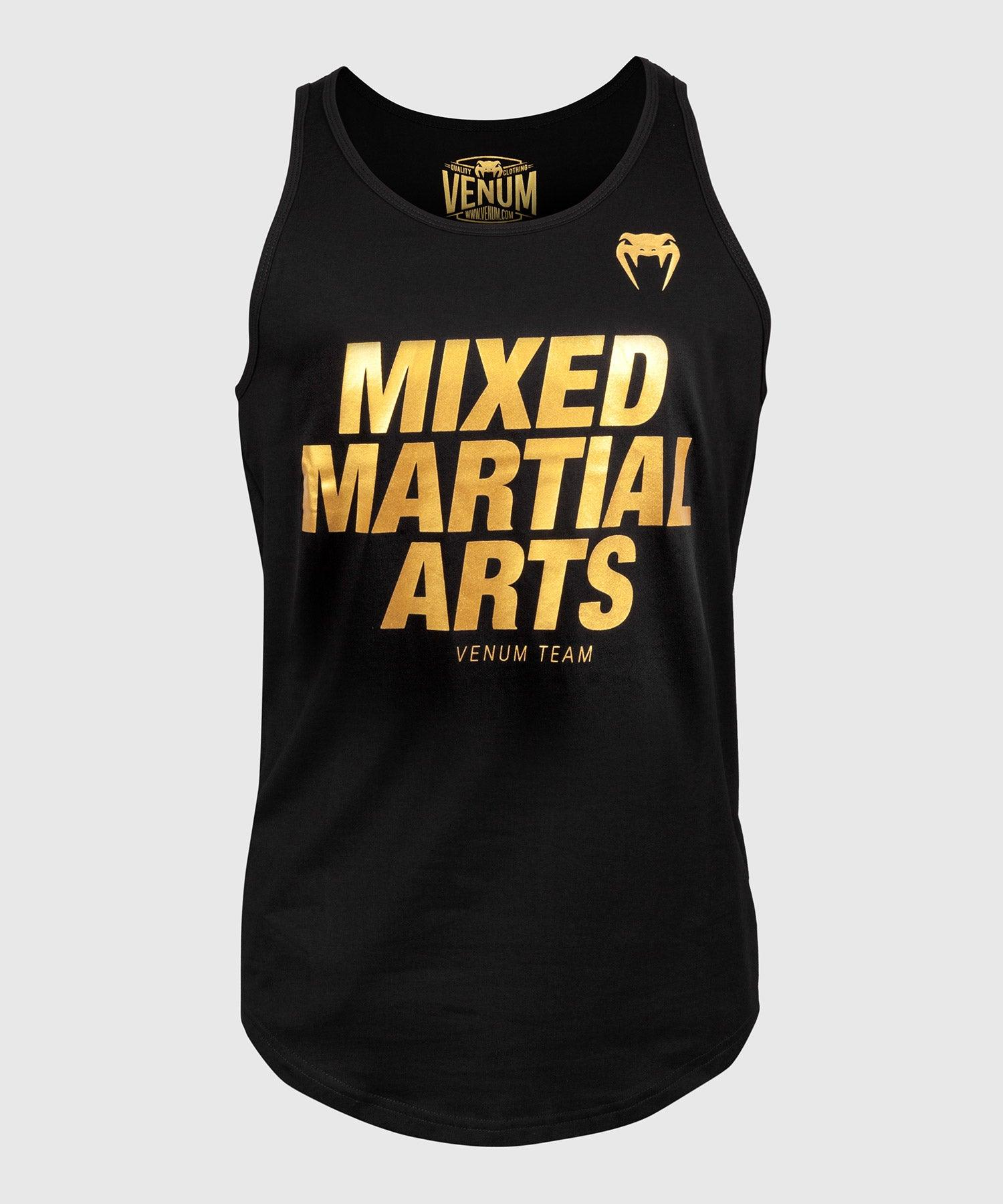 Venum MMA VT Tank Top - Black/Gold picture 1