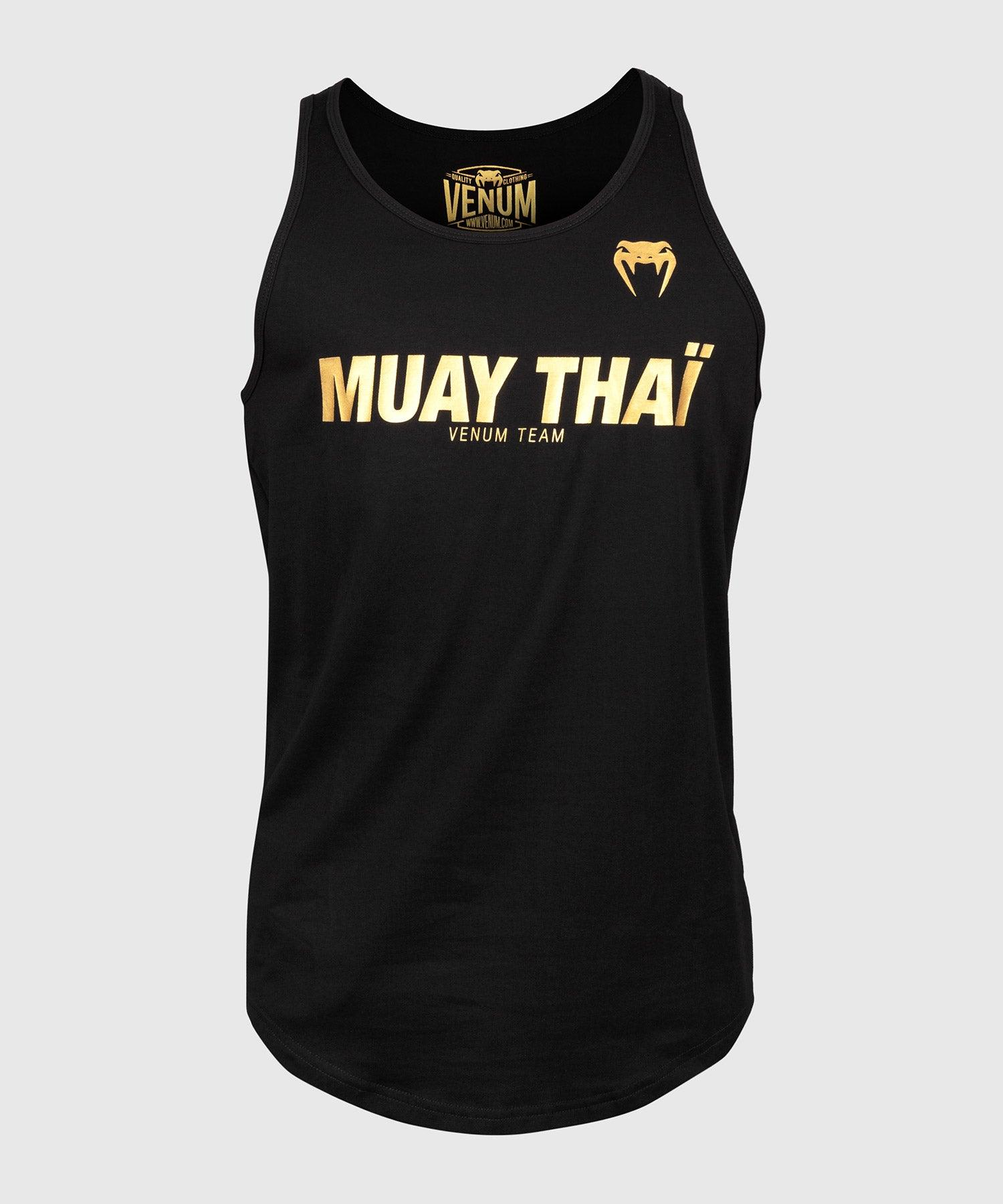 Venum Muay Thai VT Tank Top - Black/Gold picture 1