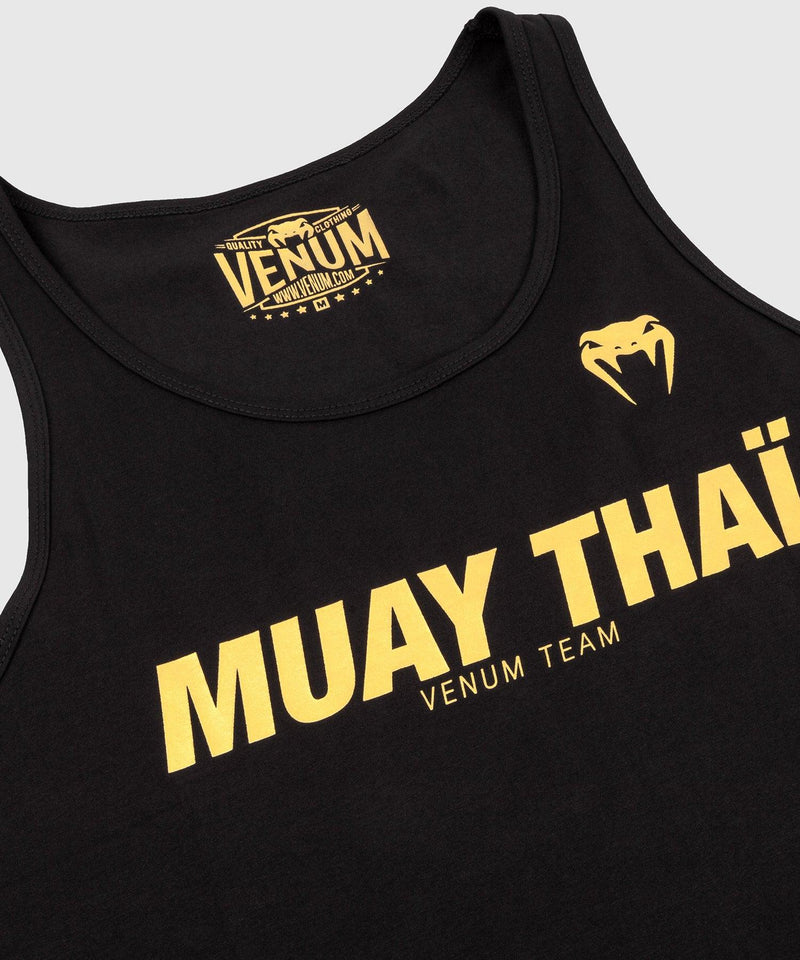 Venum Muay Thai VT Tank Top - Black/Gold picture 4