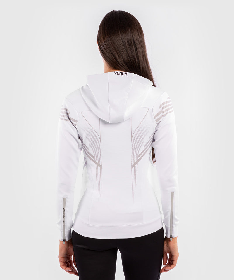 UFC Venum Authentic Fight Night Women's Walkout Hoodie – White Picture 2