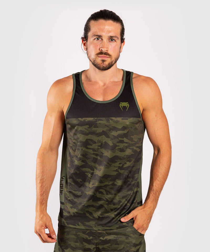 Venum Trooper Tank Top - Forest Camo/Black picture 1