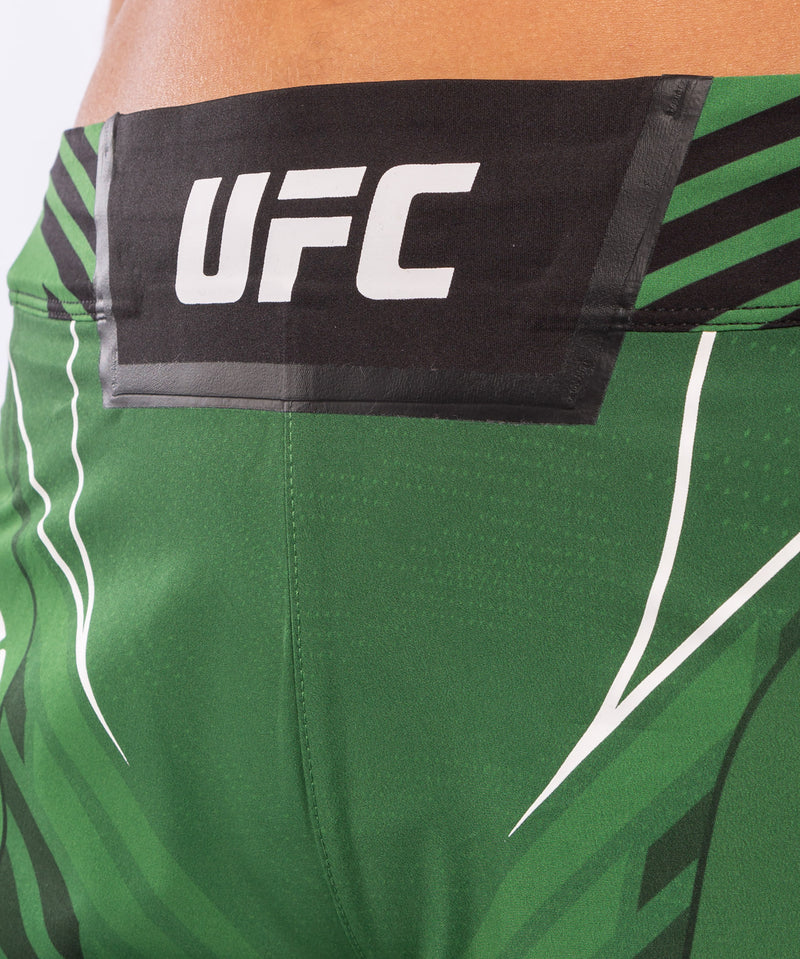 UFC Venum Authentic Fight Night Women's Shorts - Short Fit – Green Picture 5