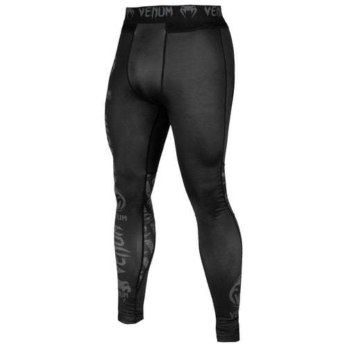 Venum Logos Tights – Black/Black picture 2