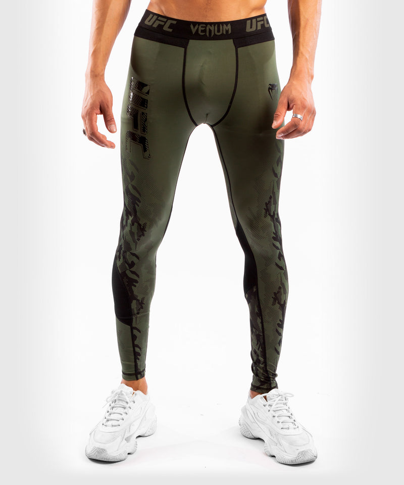 UFC Venum Authentic Fight Week Men's Performance Tight – Khaki Picture 1