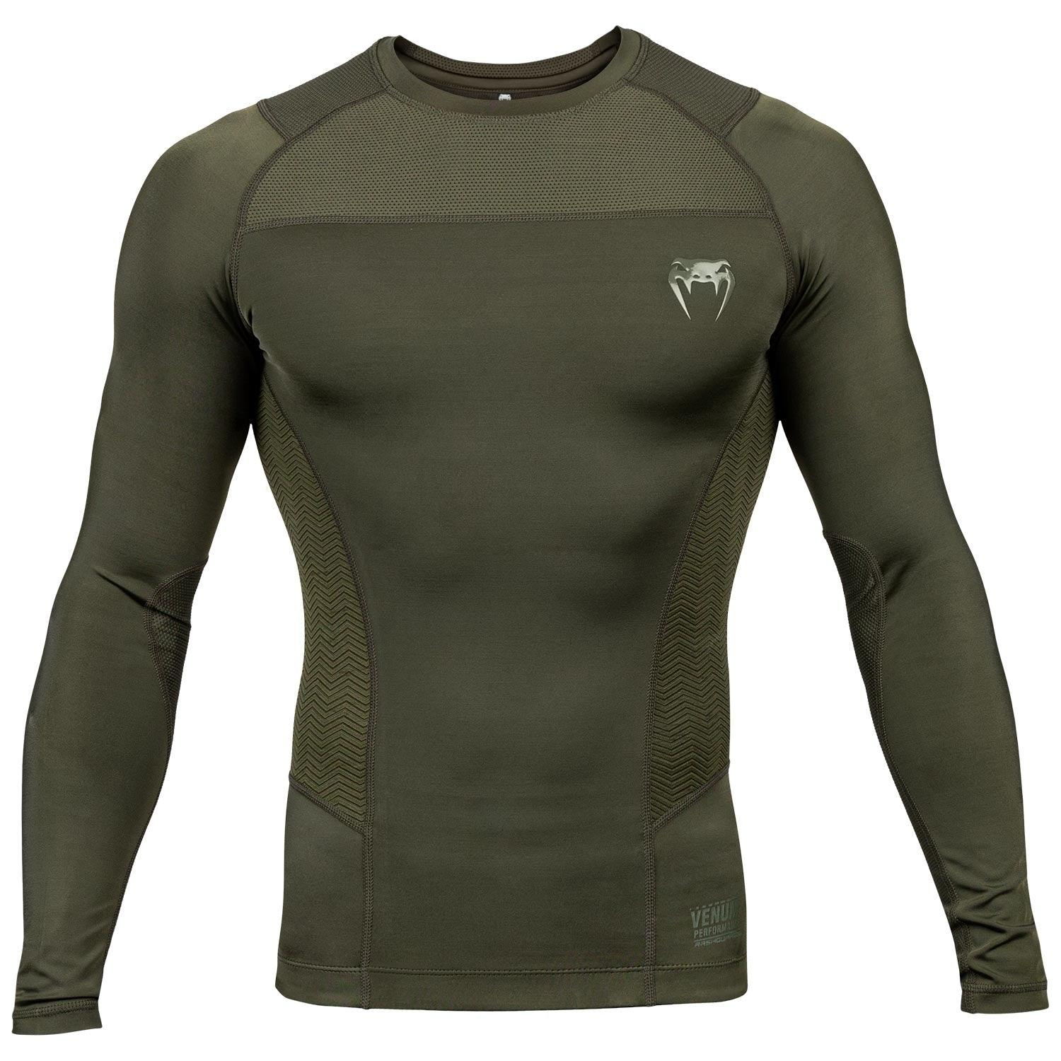 Venum G-Fit Rashguard - Long Sleeves – Khaki picture 1