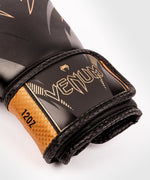 Venum Impact Boxing Gloves - Black/Bronze - picture 3