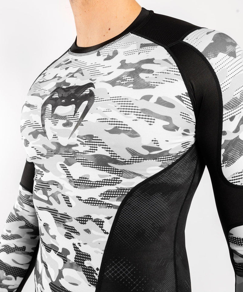 Venum Defender Rashguard - Long Sleeves - Urban Camo picture 4