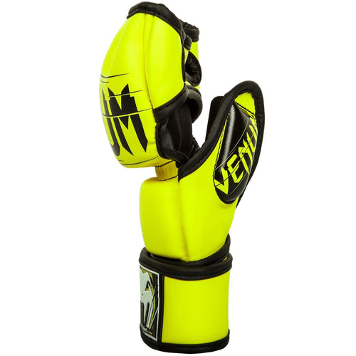 Venum Undisputed 2.0 MMA Gloves - Skintex Leather - Neo Yellow picture 2