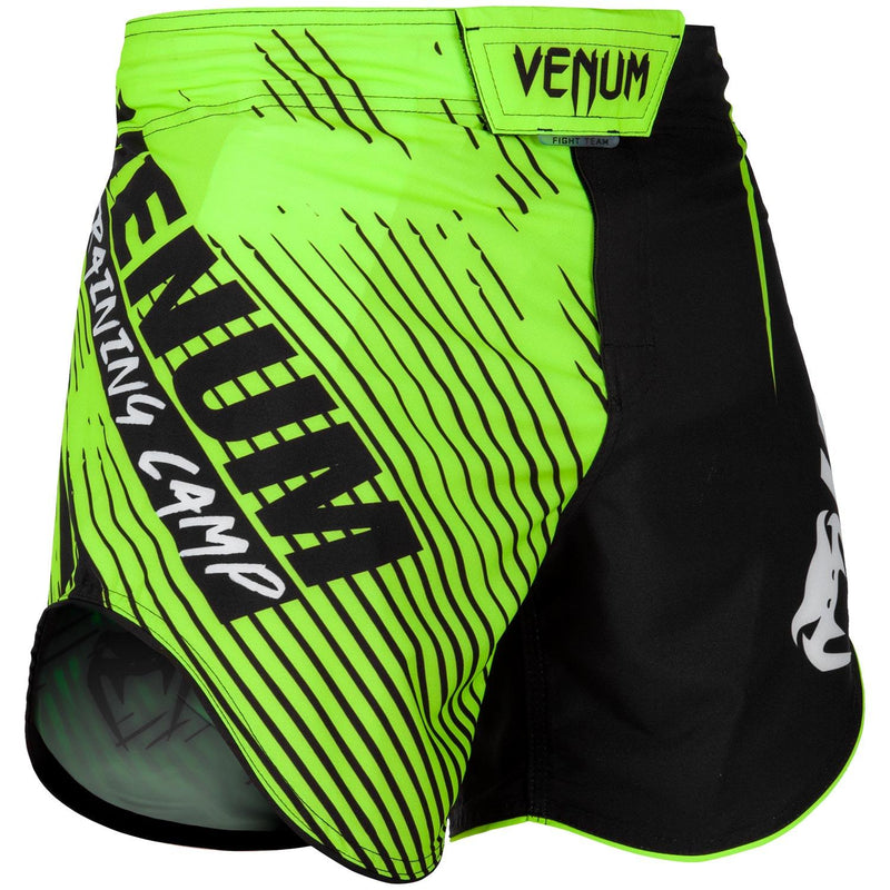 Venum Training Camp 2.0 Fightshorts - Black/Neo Yellow picture 1