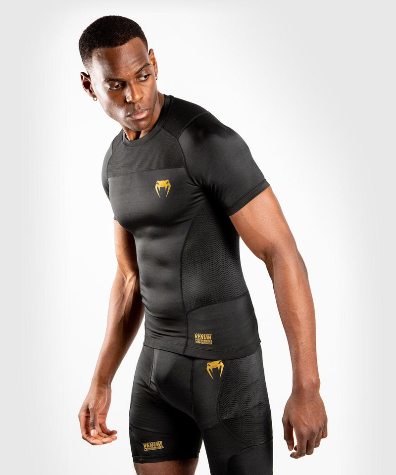 Venum G-Fit Rashguard - Short Sleeves - Black/Gold picture 3