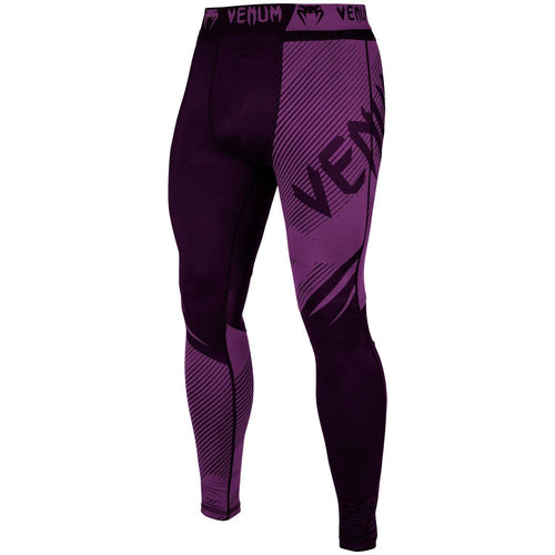 Venum NoGi 2.0 Spats – Black/Purple picture 1