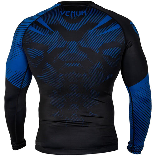 Venum NoGi 2.0 Rashguard - Long Sleeves – Black/Blue picture 4