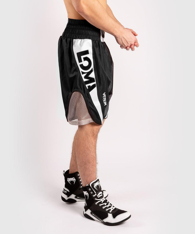 Venum Arrow Loma SIgnature Collection Boxing Shorts - Black/White picture 3