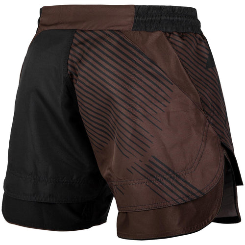 Venum NoGi 2.0 Fightshorts – Black/Brown picture 4