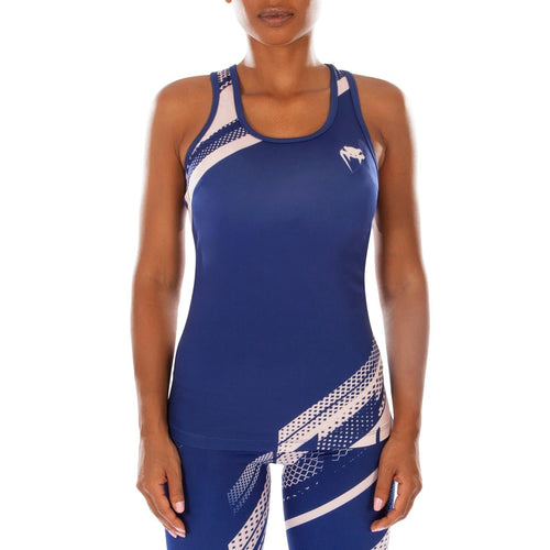 Venum Rapid Tank Top - Navy Blue/Coral picture 1