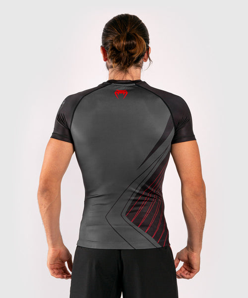 Venum Contender 5.0 Rashguard - Short sleeves - Black/Red picture 2
