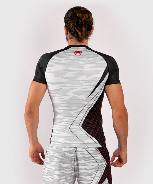 Venum Contender 5.0 Rashguard - Short sleeves - White/Camo picture 2