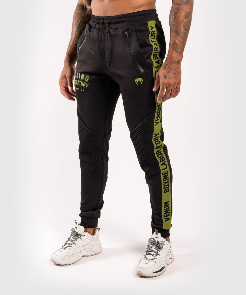 Venum Boxing Lab Joggers - Black/Green picture 1
