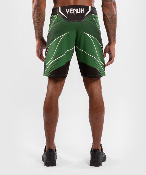 UFC Venum Authentic Fight Night Men's Shorts - Long Fit – Green Picture 2