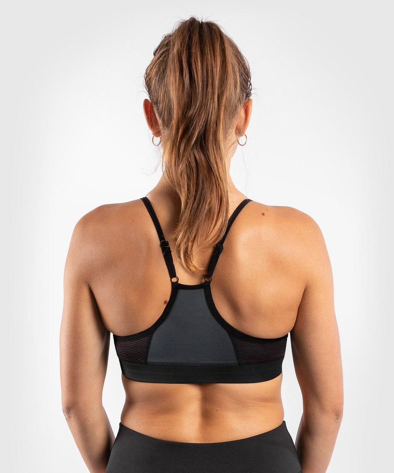 Venum Dune 2.0 Sport Bra - For Women - Black/Bronze - picture 2