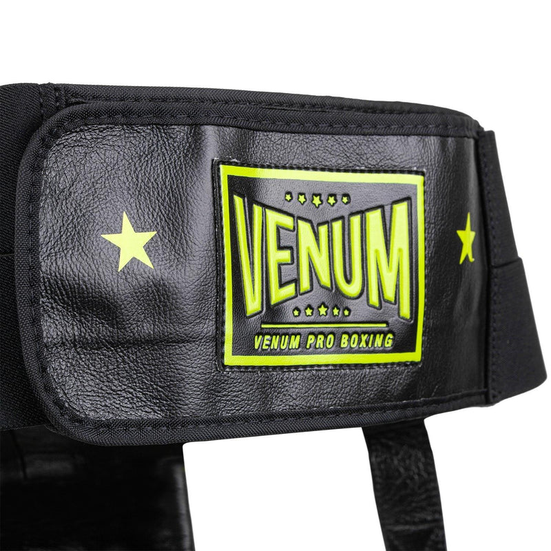 Venum Pro Boxing Protective Cup Loma Edition - Velcro – Blue/Yellow picture 5