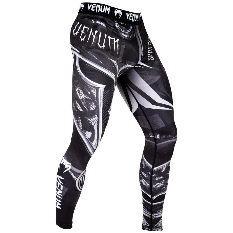 Venum Gladiator 3.0 Spats – Black/White picture 2