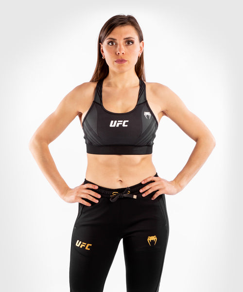 UFC Venum Authentic Fight Night Women's Sport Bra – Black Picture 1