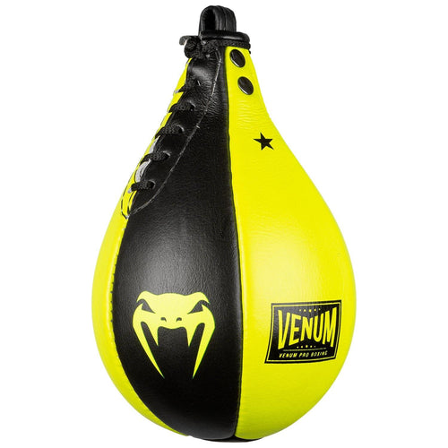 Venum Hurricane Speed Bag – Black/Yellow picture 2