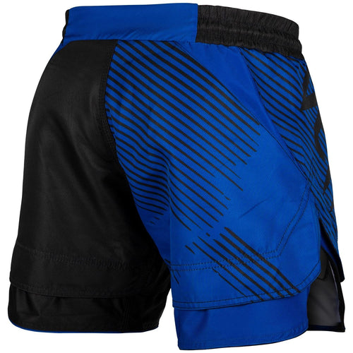 Venum NoGi 2.0 Fightshorts – Black/Blue picture 2