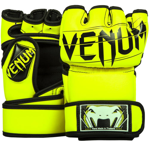 Venum Undisputed 2.0 MMA Gloves - Skintex Leather - Neo Yellow picture 1