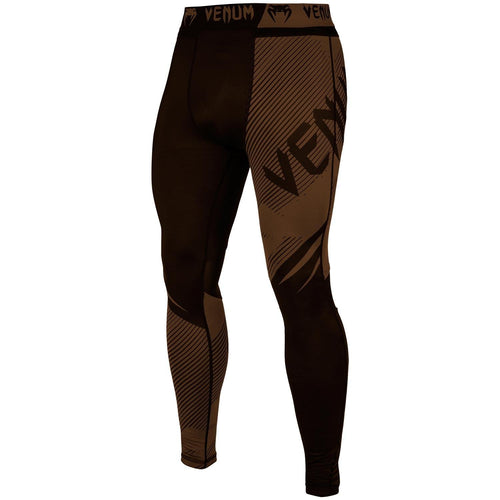 Venum NoGi 2.0 Spats – Black/Brown picture 1