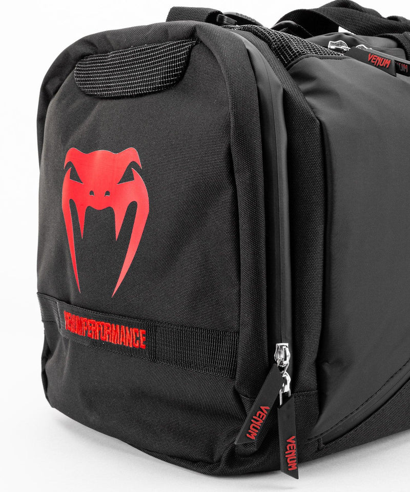 Venum Trainer Lite Evo Sports Bags - Black/Red picture 6