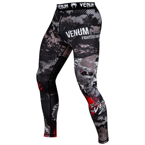 Venum Zombie Return Spats - Black picture 1