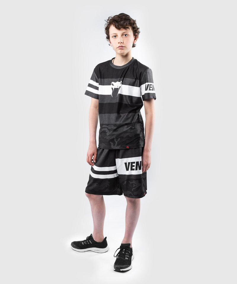 Venum Bandit Dry Tech T-shirt - for kids – Black/Grey picture 6