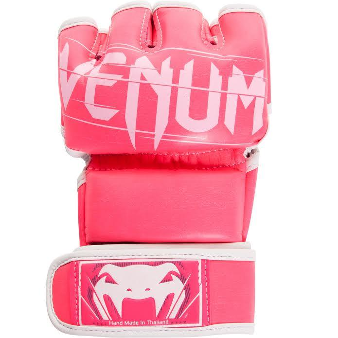 Venum Undisputed 2.0 MMA Gloves - Pink/White picture 2