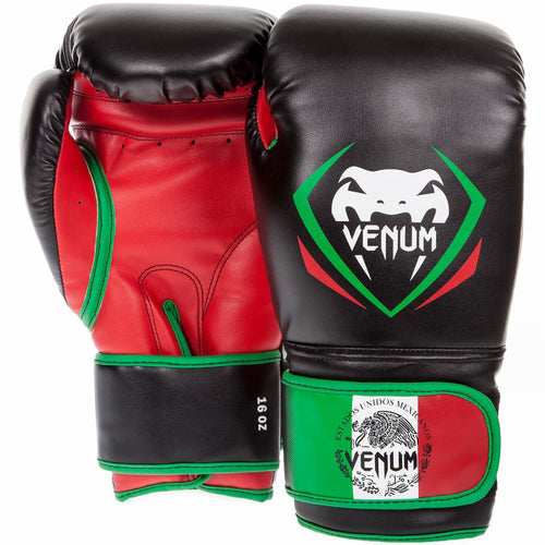 Venum Contender Boxing Gloves - Mexico - Black picture 1